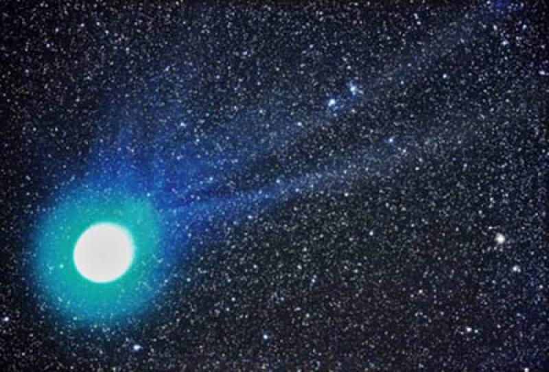 Coraz częściej dochodzi do obserwacji niebieskich gwiazd ...