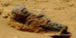 Medieval Knight Found On Mars?