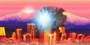 """Жители Калифорнии в шоке от пролетевшего метеорита, сопровождаемого """"пришельцами"""""""