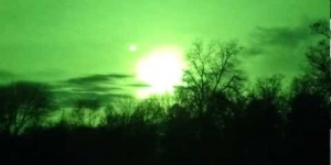 The SUN over East Texas on 12/22/2012 at 3:33PM