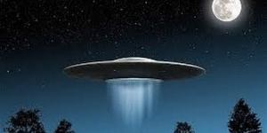 Na niebie nad Ukrainą widziano UFO lub tajny amerykański sterowiec