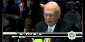 Advice from ETs by Paul Hellyer, former Minister of Defense of Canada