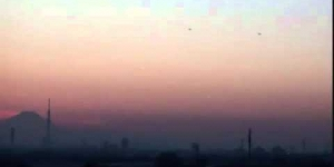 UFO over Tokyo\lihgt sigars objects