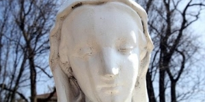 """St  Mary Catholic Church - Griffith, Indiana - """"Miracle of the Tears"""""""
