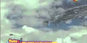 *BREAKING*MASSIVE UFO Mothership On The Peruvian News! May 26th, 2011 *UPDATED*