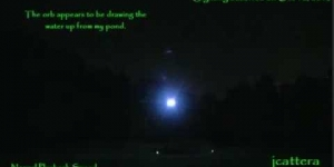 UFO Orb Sighting! 2nd Appearance - Oct 12, 2013