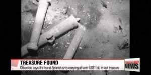 Colombia says it′s found Spanish ship carrying lost treasure