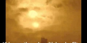 Nibiru - Planet X - Most Amazing 2 Sun Footage Ever Seen 01-25-13
