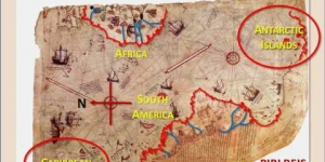 PIRI REIS: Ancient  Maps Had He -- Curious Alignments