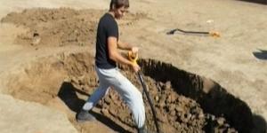 Захоронение людей-гигантов обнаружили археологи