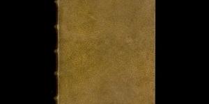 Harvard University Book Bound With Human Skin