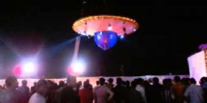 UFO came with groom-bride at marriage @ Porbandar