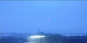 UFO Over Power Plant Russia February 08, 2012