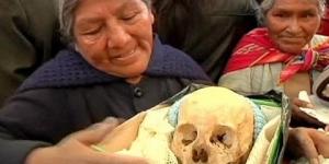 Боливийцы отметили День Черепов