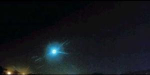 Огненный шар наблюдали в небе над США