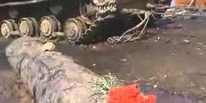 WW2 Russian KV-1 Tank Recovery