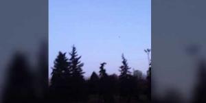 Неопознанный летающий объект над Алматы