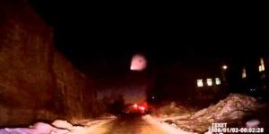 Светящийся объект в небе над Омском с разных ракурсов (17.11.2015) / Luminous object in the sky, UFO