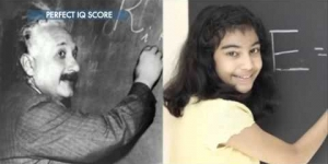 12 Year Old Girl Perfect Score On IQ Test Beating Albert Einstein & Stephen Hawking!