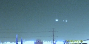 Multiple UFOs From North To South