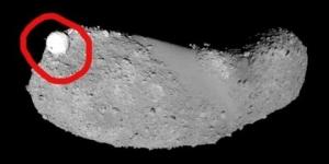 Japońska sonda Hayabusa sfotografowała na asteroidzie dziwny sferyczny obiekt
